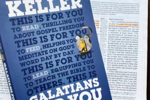 """""""Galatians for You"""" by Tim Keller"""